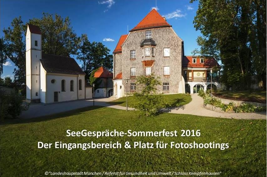 Schloss Kempfenhausen Eingang