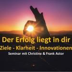 Innovationswochende Frank und Christine Astor