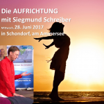 Aufrichtung Siegmund Schreiber