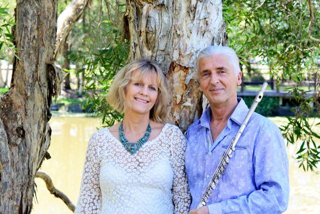 Terry Oldfield und Soraya