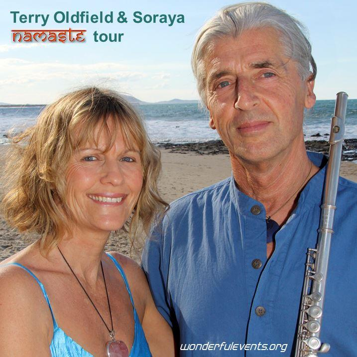 Terry Oldfield Soraya Namaste