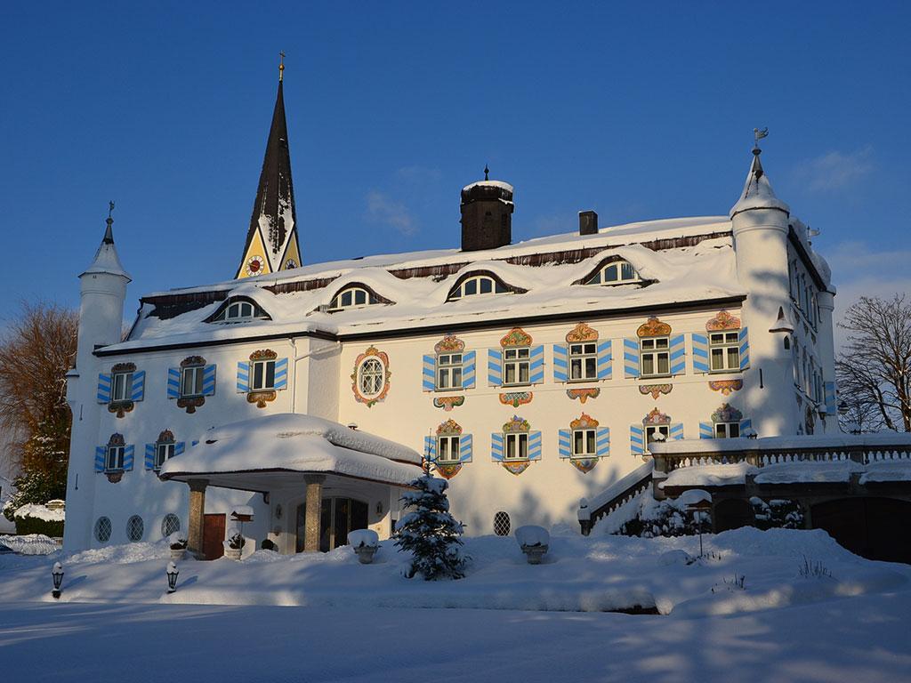 Bonn Schlössl im Winter