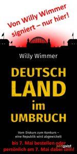 WillyWimmer Buch Deutschland im Umbruch