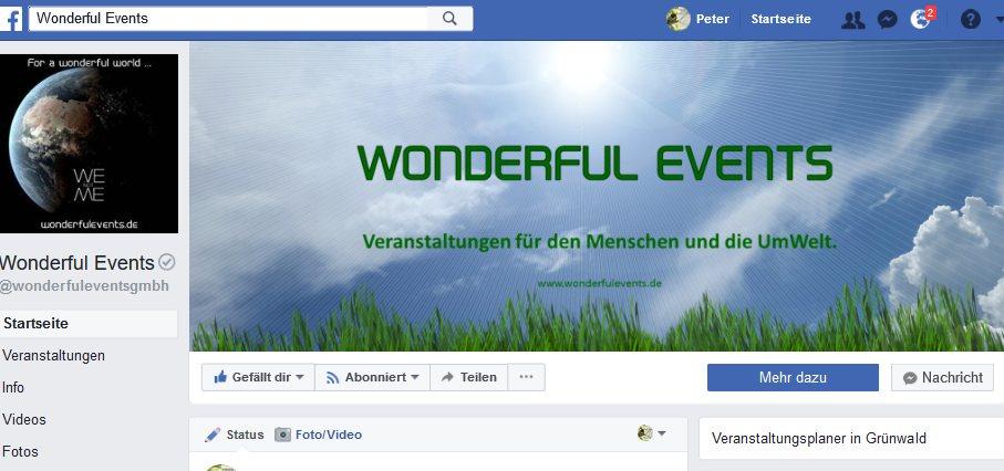 Facebook Wonderful Events