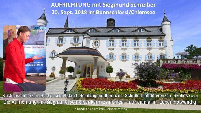 Aufrichtung Siegmund Schreiber Bernau September