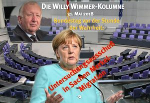 wILLY wIMMER kOLUMNE Merkel