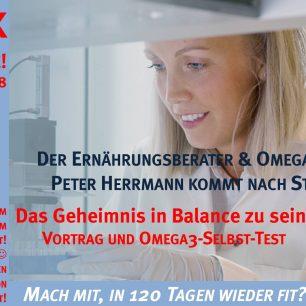 Omega 3 Check Vortrag Peter Herrmann