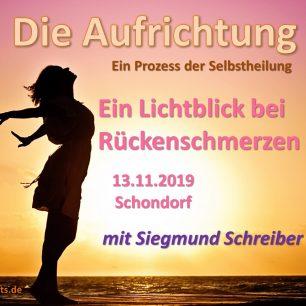 Aufrichtung Siegmund Schreiber Ammersee